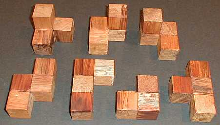 Amazon.com: Natural Soma Cube - Made in USA: Toys & Games